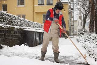 Winterdienst Versicherung